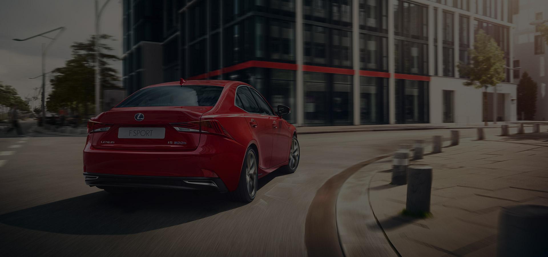 2017 Lexus IS F SPORT hero video