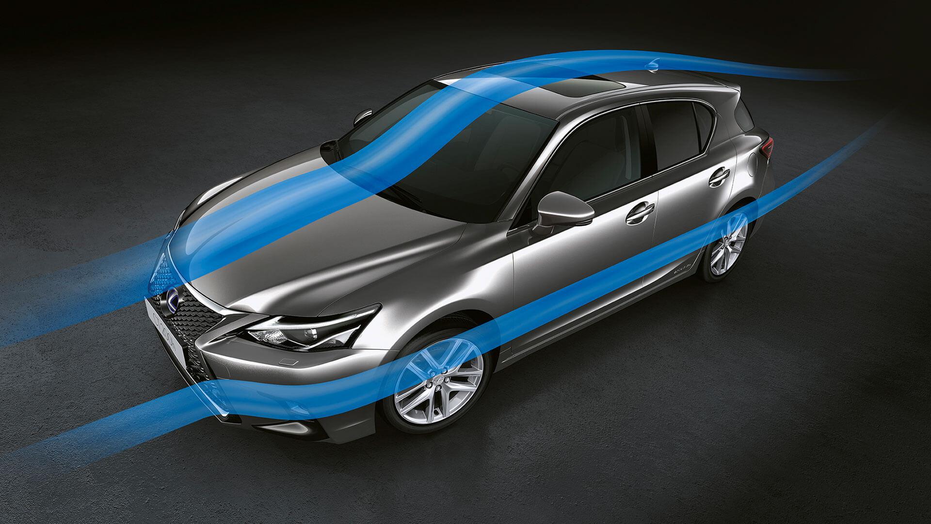 2018 lexus ct 200h my18 features aerodynamics