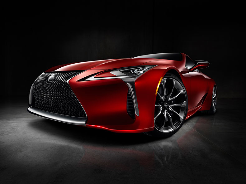 2017 Lexus LC Design Gallery 003