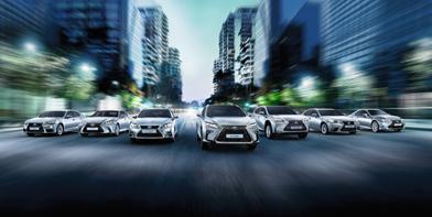 Sparen mit der Lexus Hybridprämie