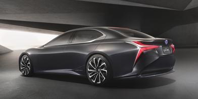 LF FC Concept Car als Vorbote