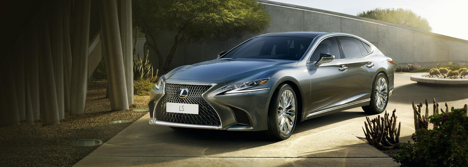 2018 Lexus LS 500h Geneva Home