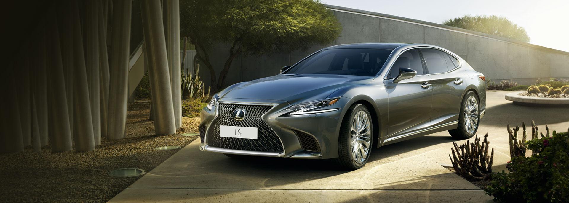 2018 Lexus New LS Hero