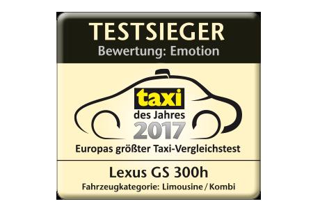 taxi des jahres logo 2017