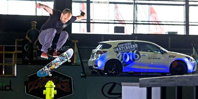 lexus westdeutsche meisterschaft skateboarden