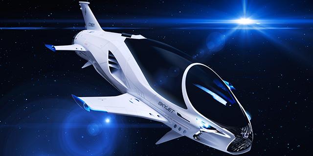 Lexus und Europacorp prästentieren den Skyjet