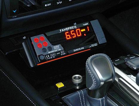 Lexus GS IV ab 2016 Taxi Taxameter Konsole mit HALE MCT