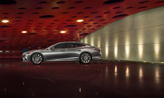2017 01 Design Preis für den neuen Lexus LS