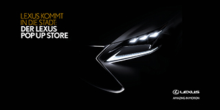 lexus pop up store teaser