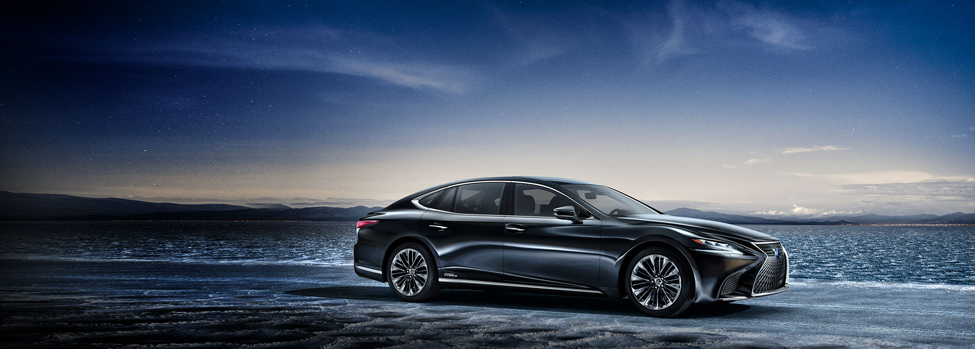 2018 Lexus LS 500h Geneva Home Hero