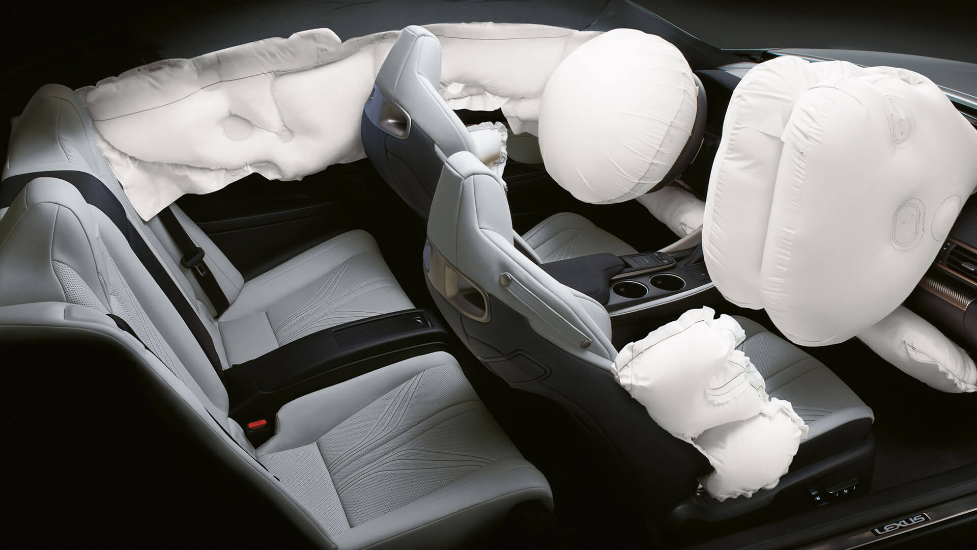 2017 lexus rc f features airbags