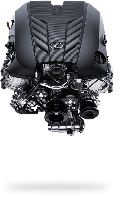 2017 Lexus LC 500 Driving Dynamics Engine