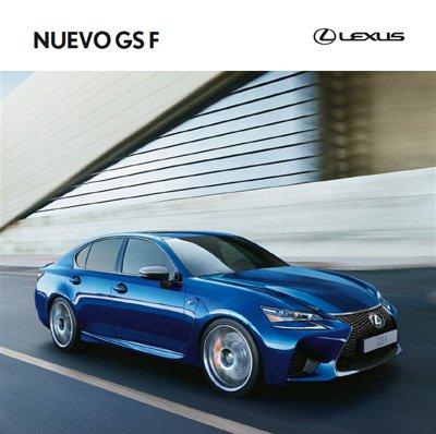 Portada del catálogo GS F de modelos y características