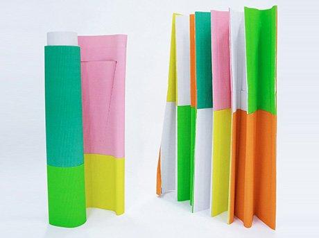 Tent es una tienda de campaña inspirada en el arte del Origami