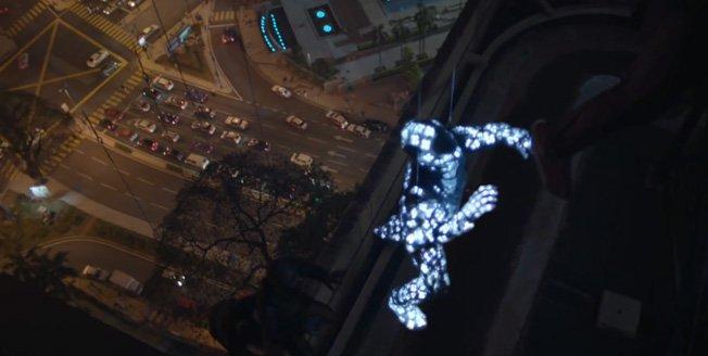 Strobe es un proyecto que muestra la tecnología Lexus a través de la imaginación