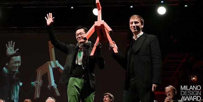 Imagen de los premiados en Milán