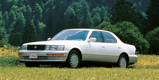 Los inicios de los coches lexus en Japon