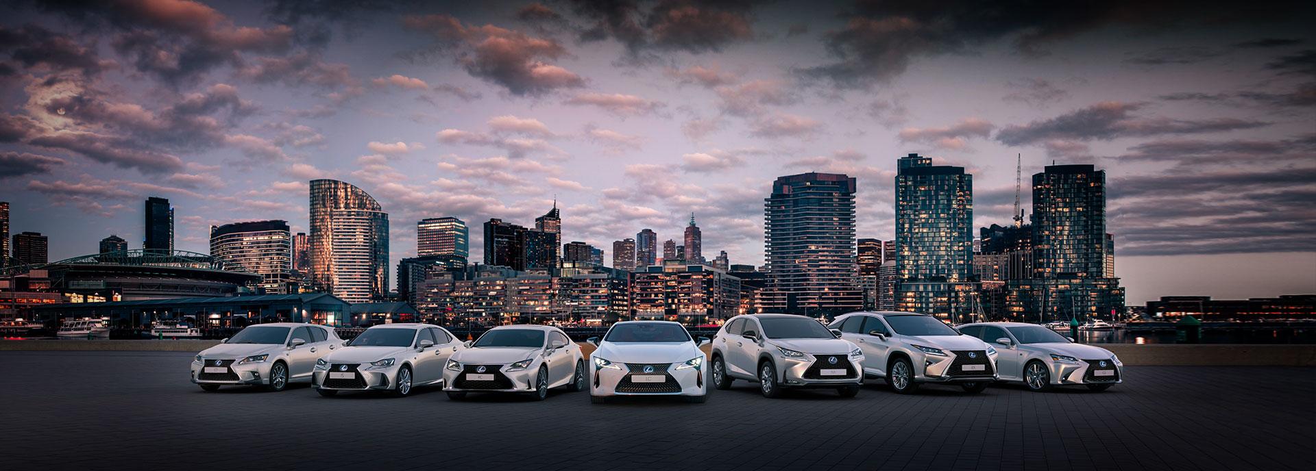 Vista general de la Gama Híbrida de Lexus