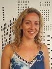 Primer plano de la asesora comercial Carolina Llopart