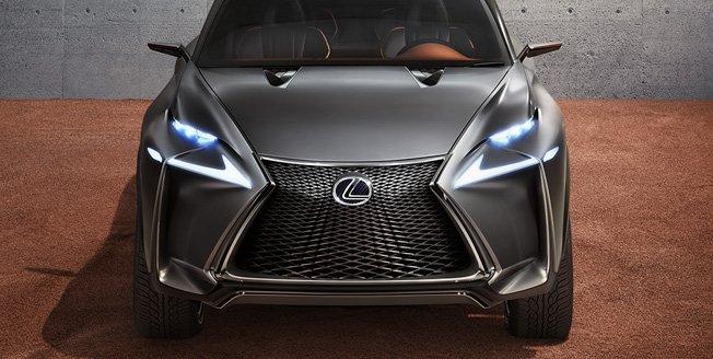 Prototipo SUV compacto si no que muestra como es la valentía de Lexus en el diseño