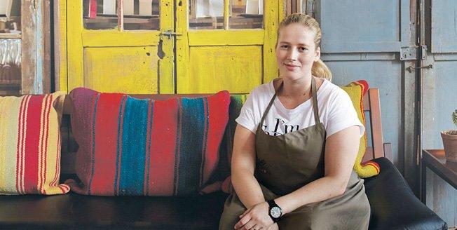 La chef danesa en la escuela de cocina Gustu de Bolivia