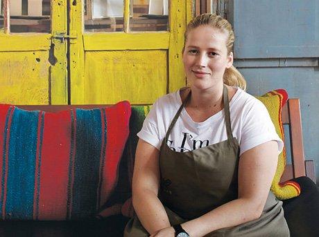 Una de las grandes chef Kamilla Seidler