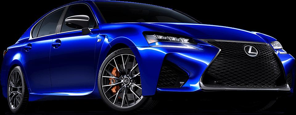 Vista frontal tres cuartos del modelo en azul
