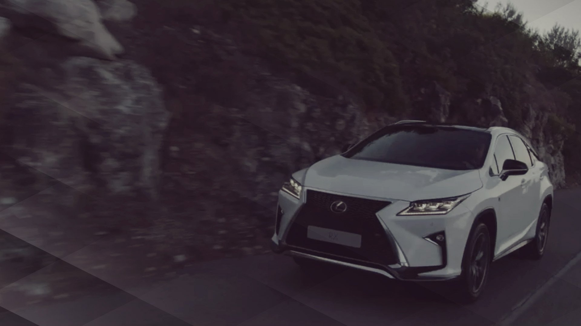 Vista modelo Rx probado en carretera