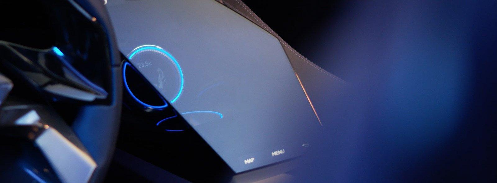 Vista interior del cuadro digital del UX