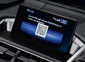 Vista en detalle del Lexus Navigation del NX 300h Sport Edition