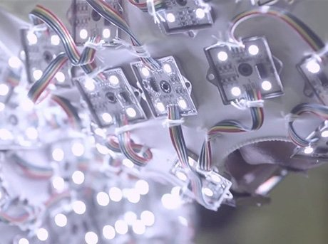 Proyecto que se basa en la iluminación en movimiento