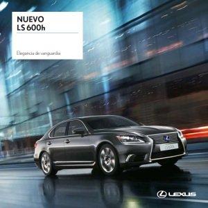 Vista portada catalogo LS 600h