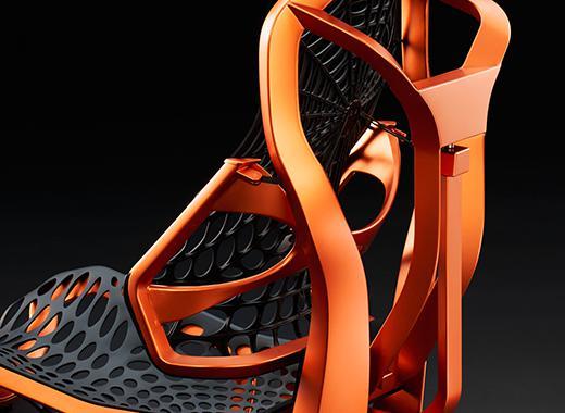 La red estructural flexible se ajusta al cuerpo