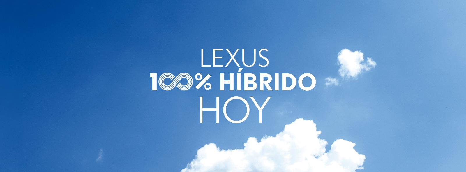 Cabecera del video de Lexus 100 Hybrid hoy