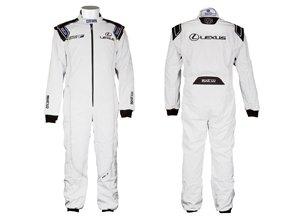 Mono competición Lexus Blanco MKB 050 0001 2 3 4 5