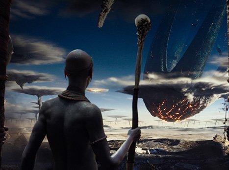 Vista del Inicio del video del trailer de la película Valerian