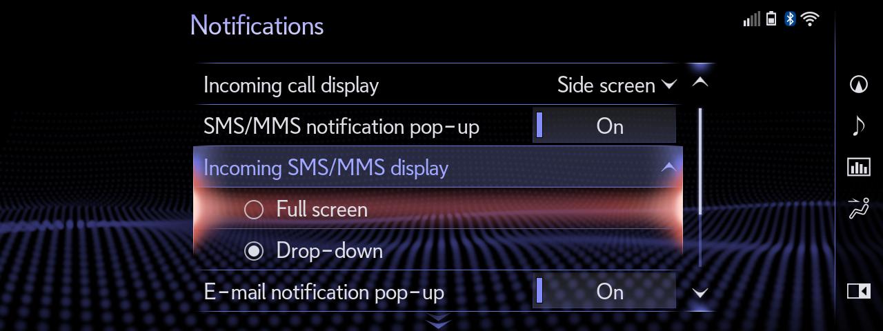 05 Full Screen SMS
