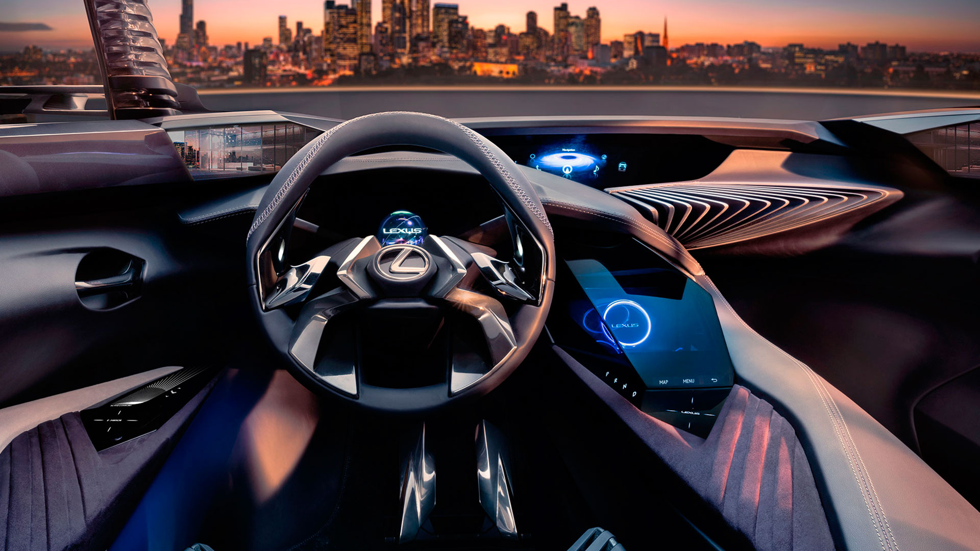 Experiencia del nuevo Lexus UX Concept hero asset