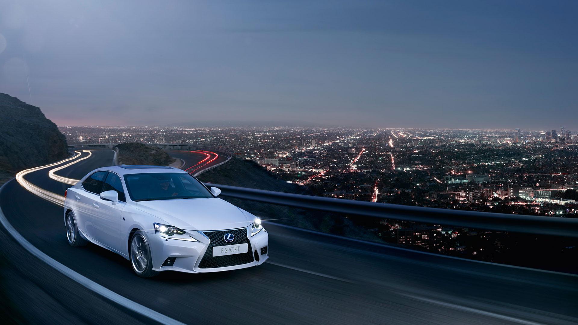 Lexus IS hero asset