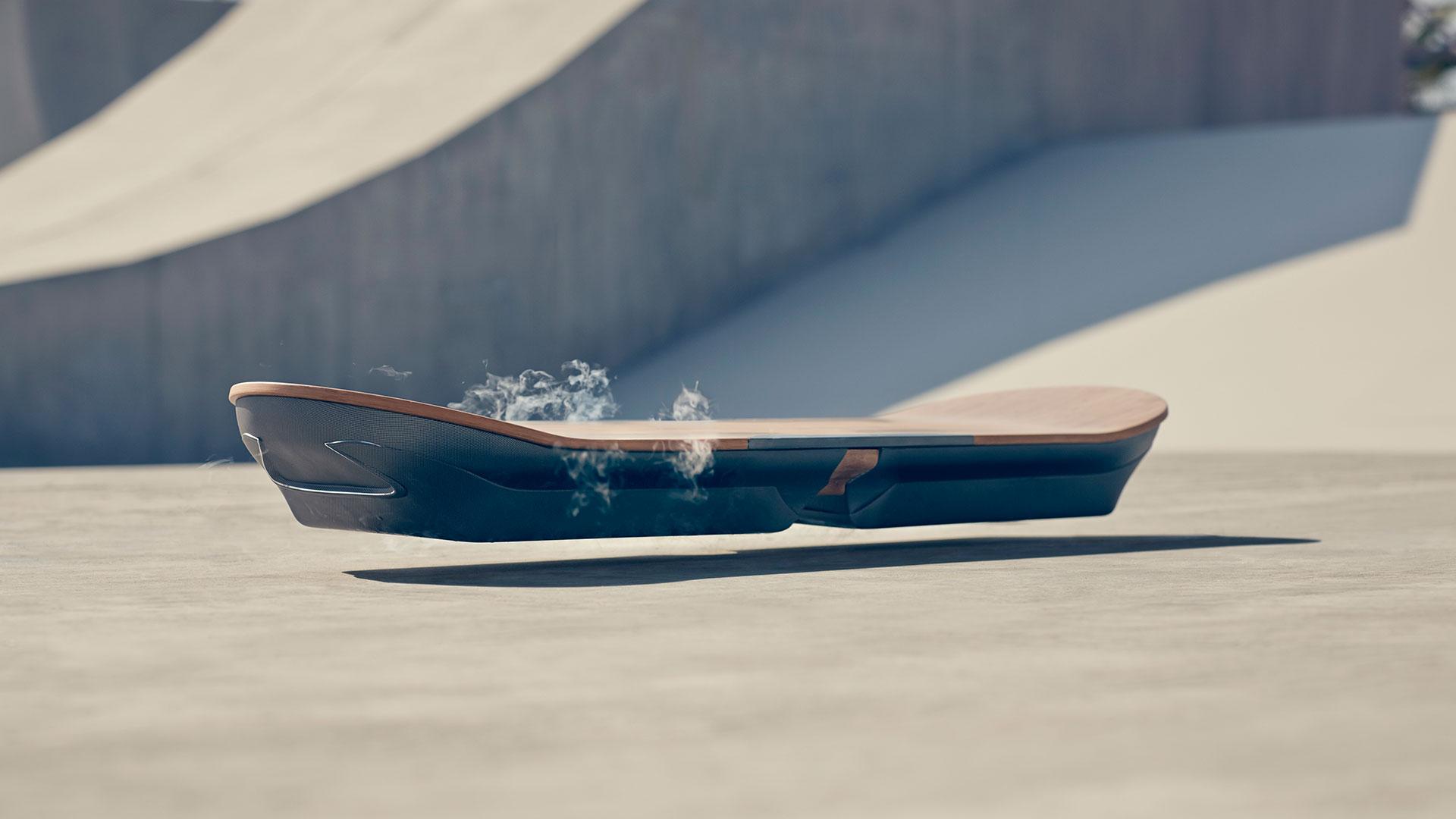 Hoverboard hero asset