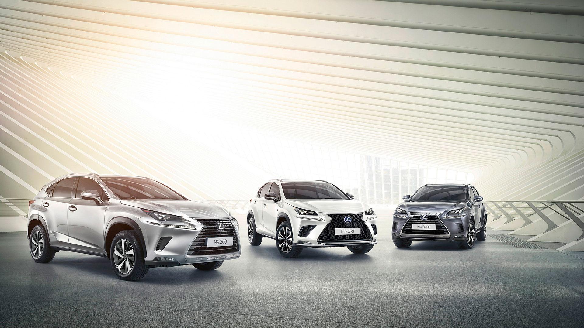 Nuevo Lexus NX hero asset