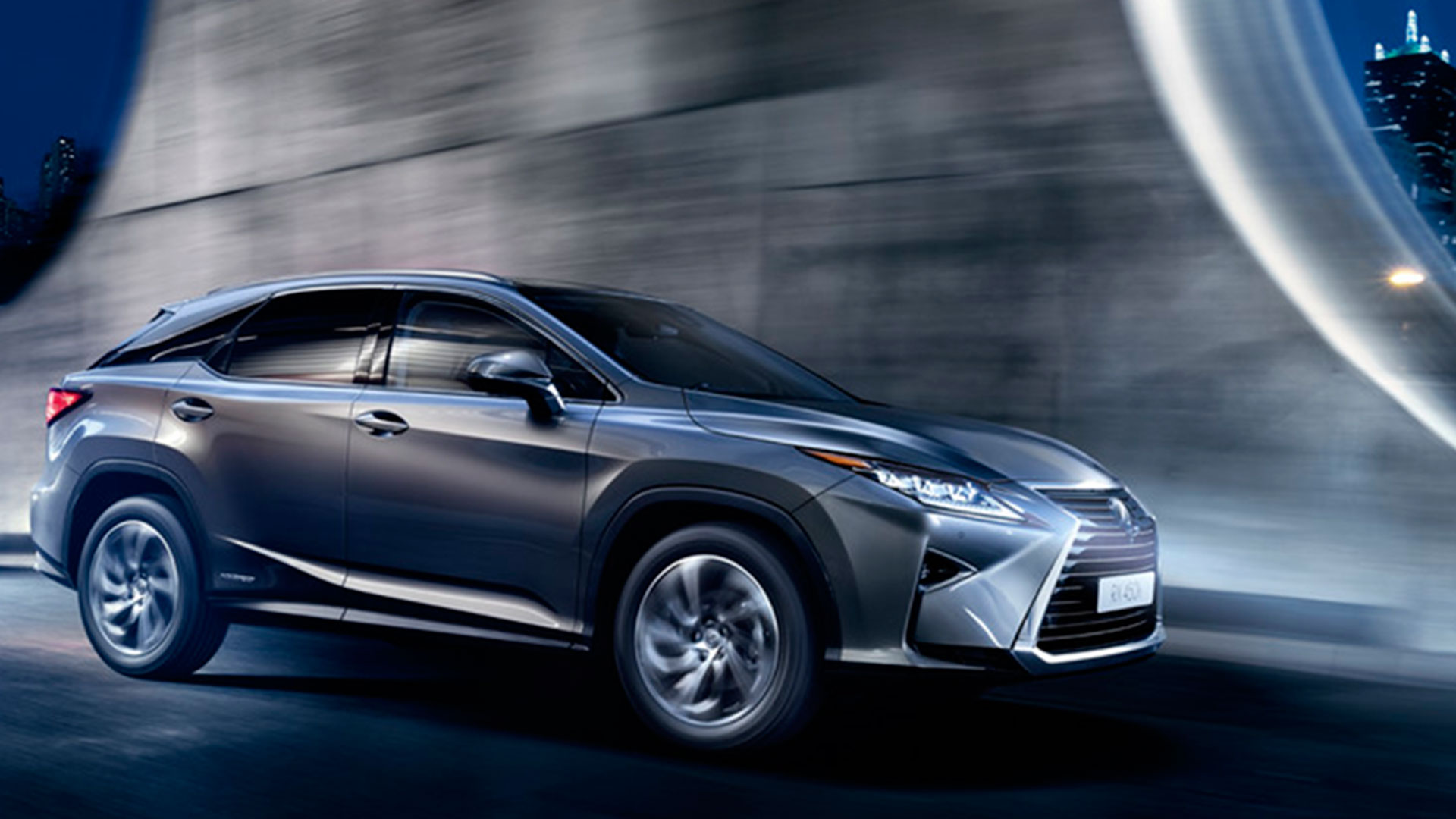 Acabado Business Lexus RX 450h hero asset