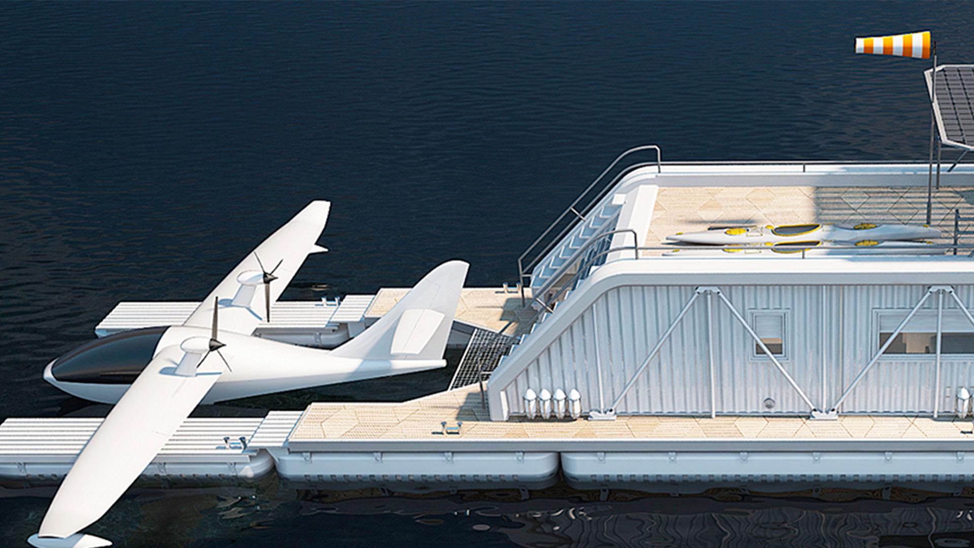 Casa avión barco hero asset