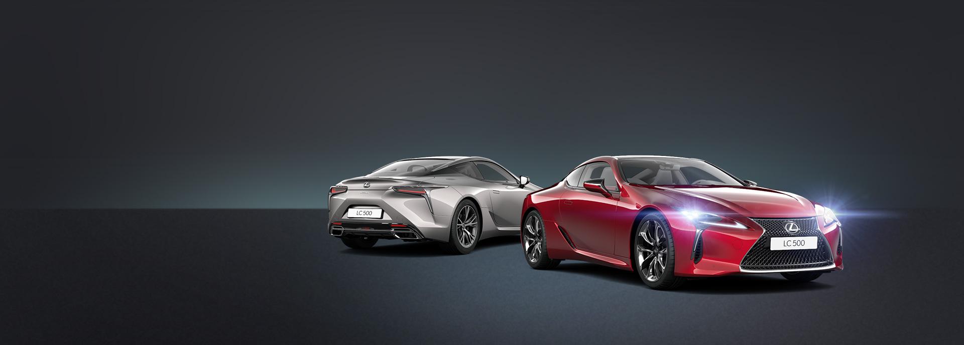 2017 Lexus LC 500 build promo