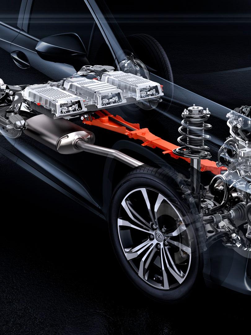 2017 lexus hybrid braking