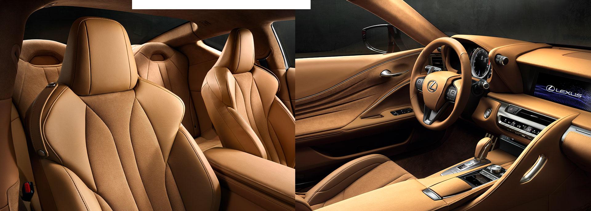 Lexus LC 500 ylivertainen viimeistely