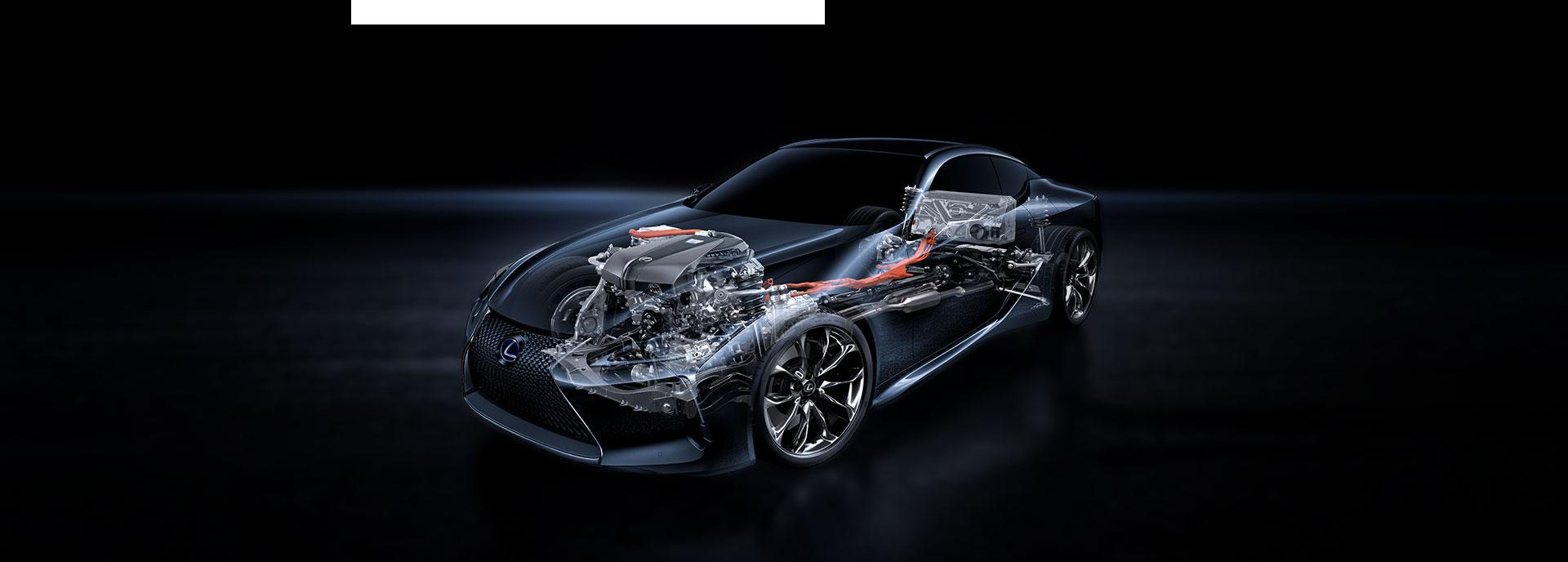Lexus LC 500h Hybrid alusta