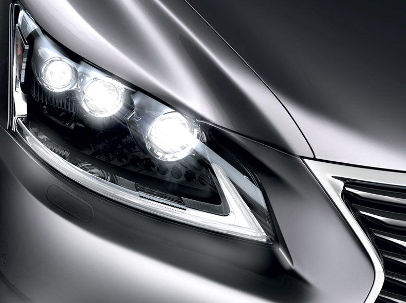Lexus LS 600h Hybrid LED ajovalot
