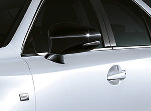 Lexus IS 300h Sport Hybrid mustat peilit