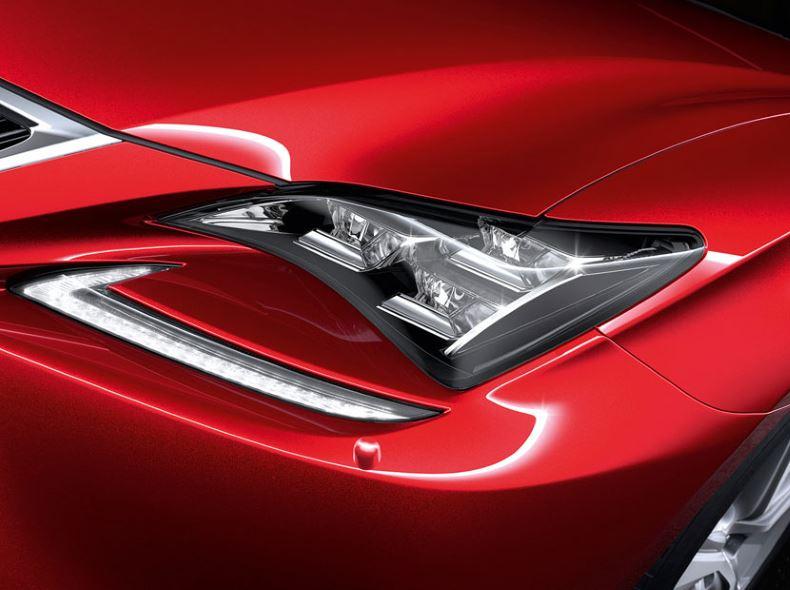 Lexus RC F LED ajovalo